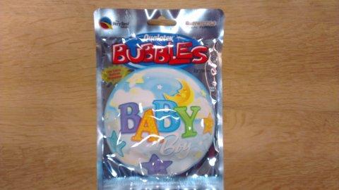 Babyboy Folieballon foto