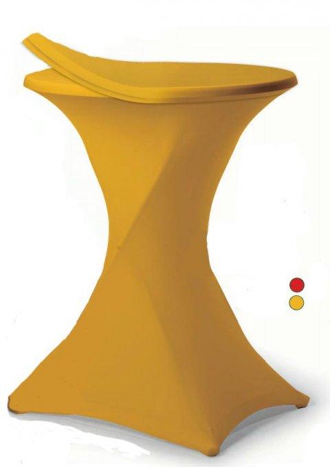 Statafel rok geel foto