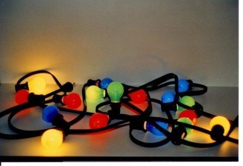 Verlichting gekleurd led foto
