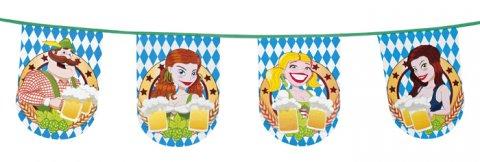 Bierfest vlaggenlijn foto