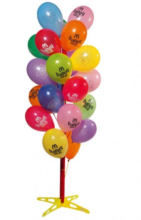 Boom voor ballonnen foto