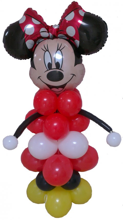 Mini Mouse van ballonnen foto