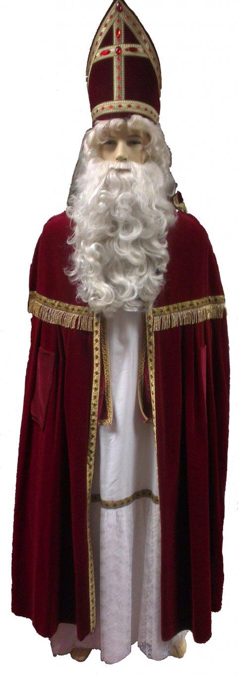 Sinterklaaskostuum luxe + foto