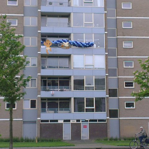 Balkon Baby Roan foto