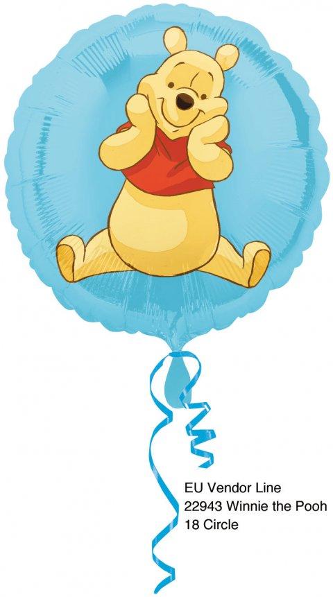 Winnie the Pooh Folieballon foto