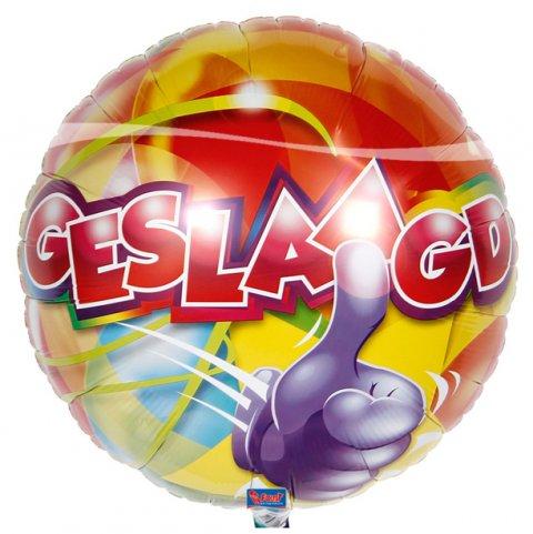 Geslaagd Folieballon foto