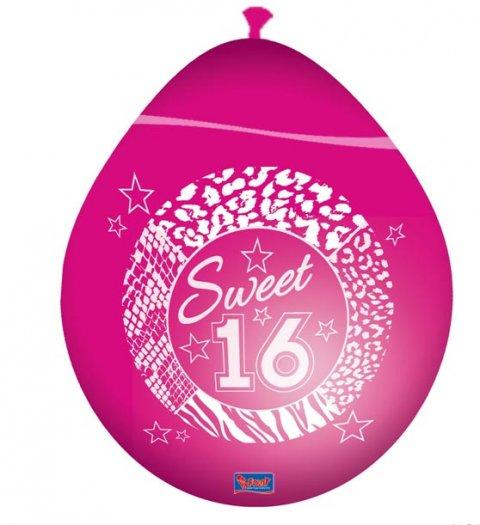 Sweet 16 Ballonnen foto