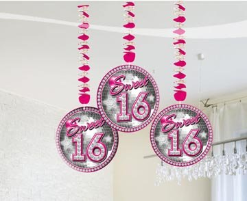 Sweet 16 Hanging deco foto