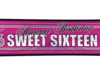 Sweet 16 Banner