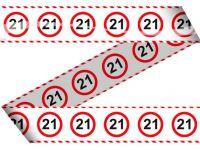 Markeerlint verkeersbord 21