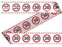Markeerlint verkeersbord 30