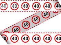 Markeerlint verkeersbord 40