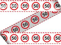 Markeerlint verkeersbord 50
