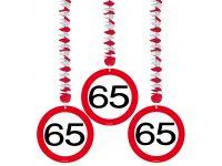 Hangdecoratie Verkeersbord 65
