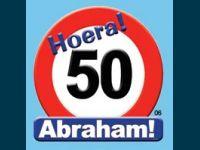 Huldeschild Abraham 50