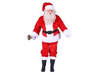 Kerstman kostuum pluch