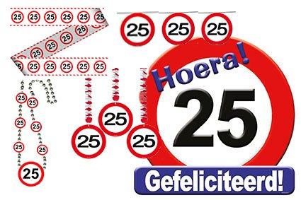 Verjaardag verkeers pakket 25 foto