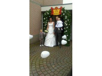 Luxe huwelijksboog compleet