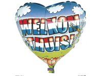 Welkom thuis folieballon groot