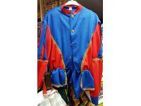 Pietenpak  blauw/rood 56