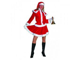 Kerstvrouw kostuum maat 44