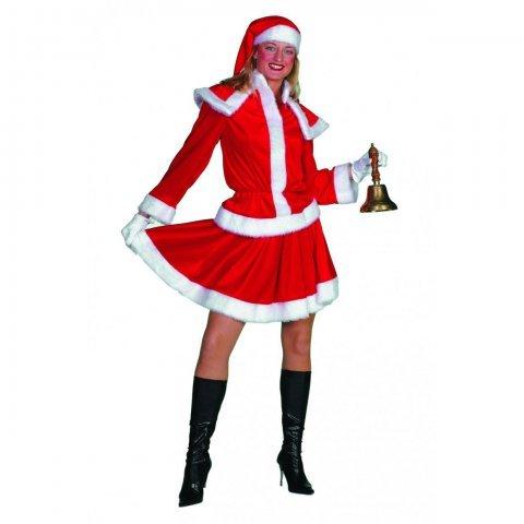 Kerstvrouw kostuum maat 44 foto