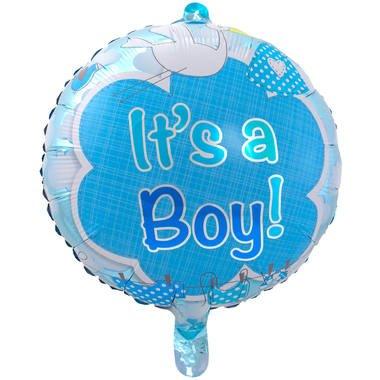 its a boy folieballon foto