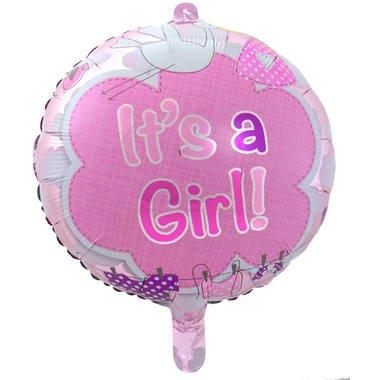 its a girl folieballon foto