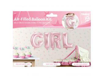 Girl folie ballonnen