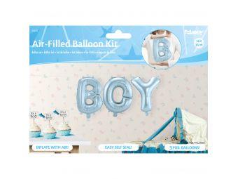 Boy folie ballonnen