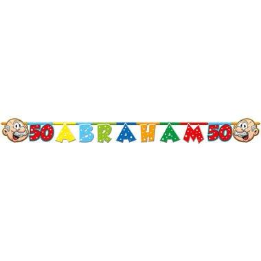 Abraham rainbow letterslinger foto