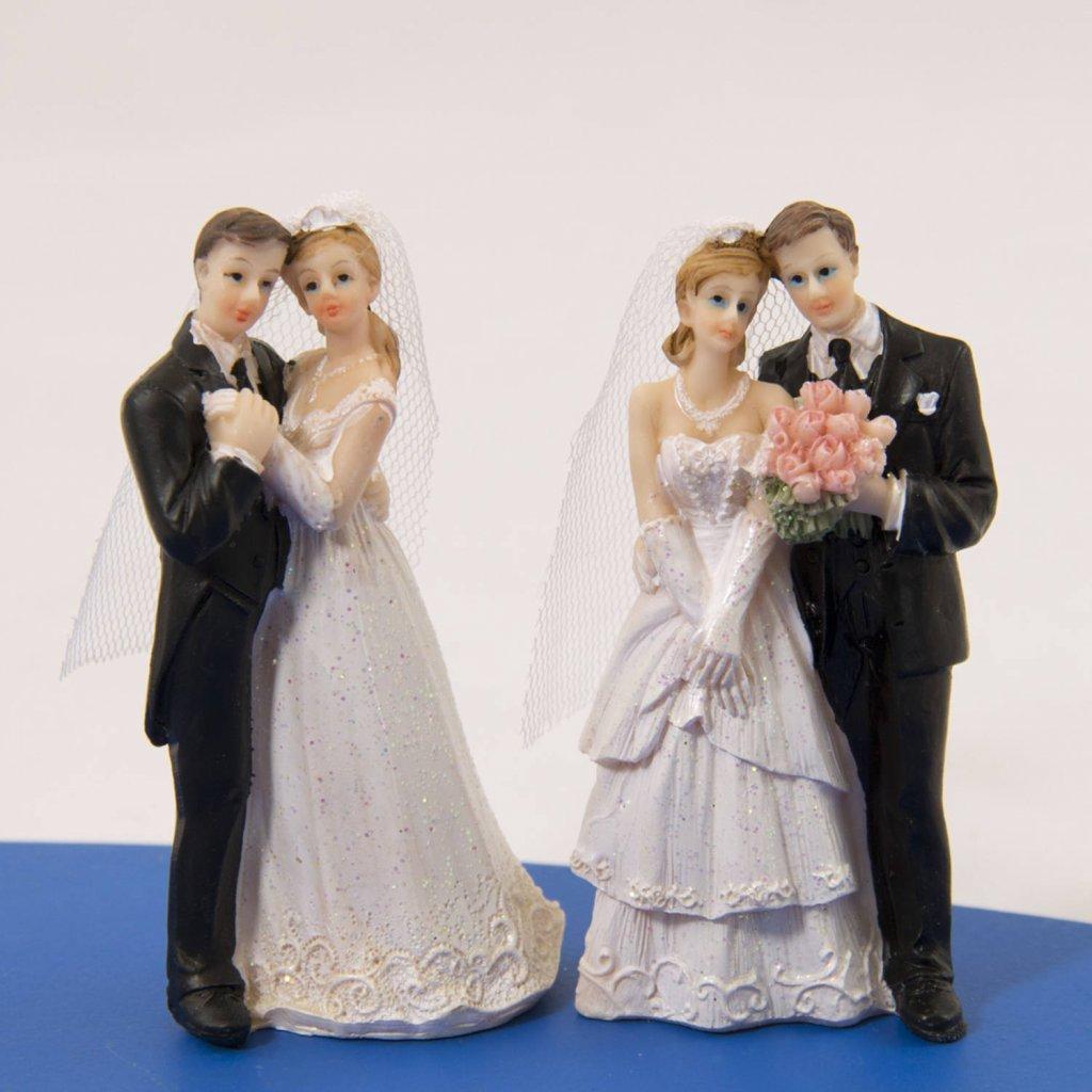 trouwfiguur klassiek koppel foto