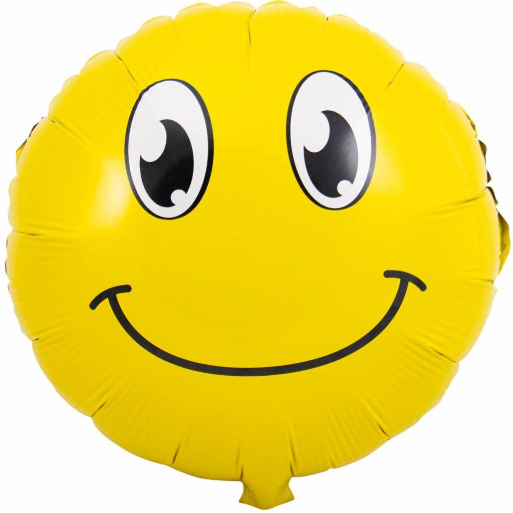 Emoticon Glimlach 45cm foto