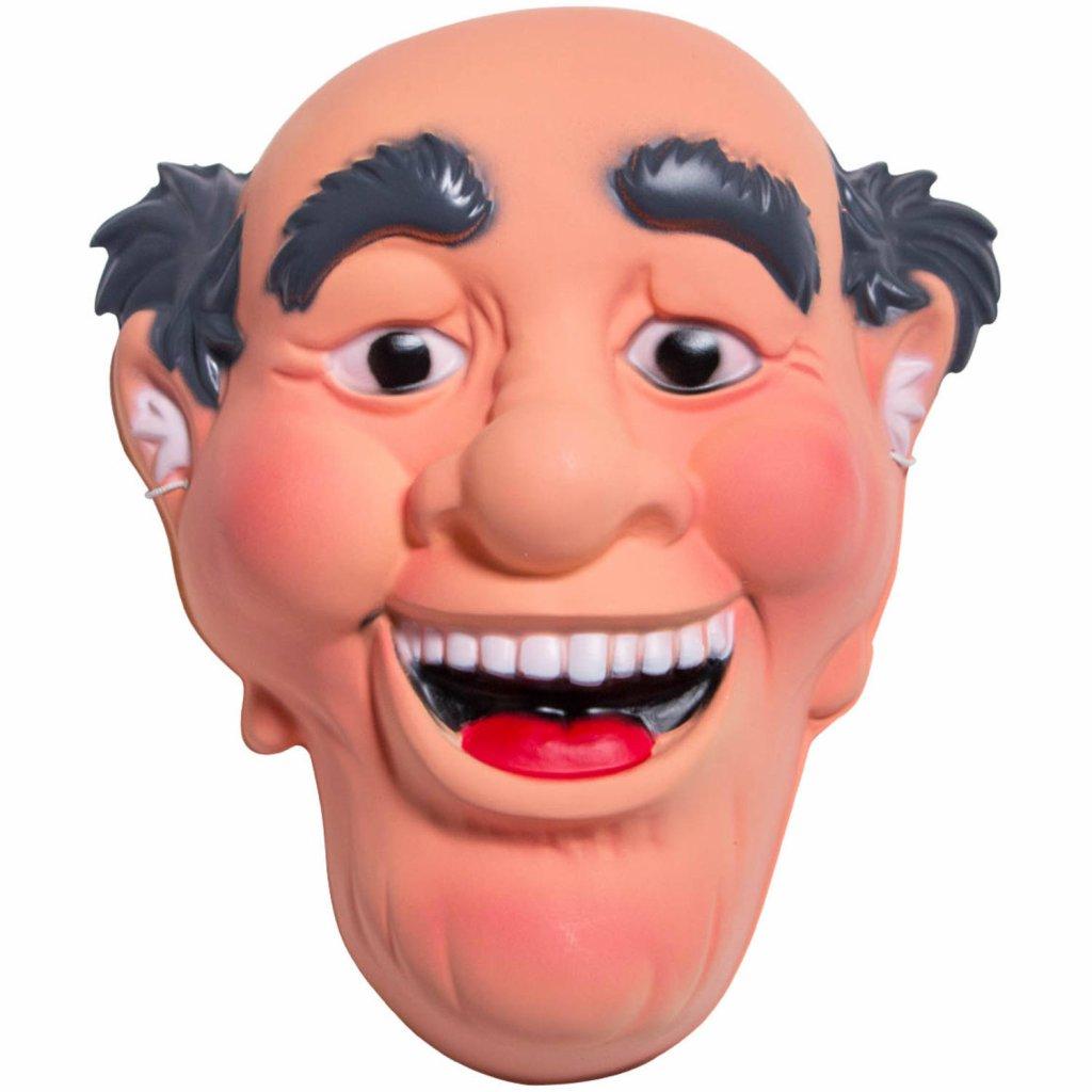 masker 3D abraham 50 jaar foto