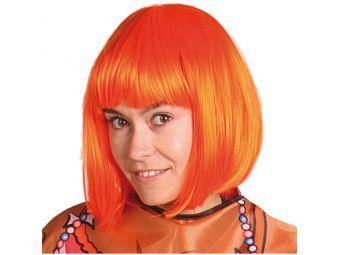 Bobline oranje pruik