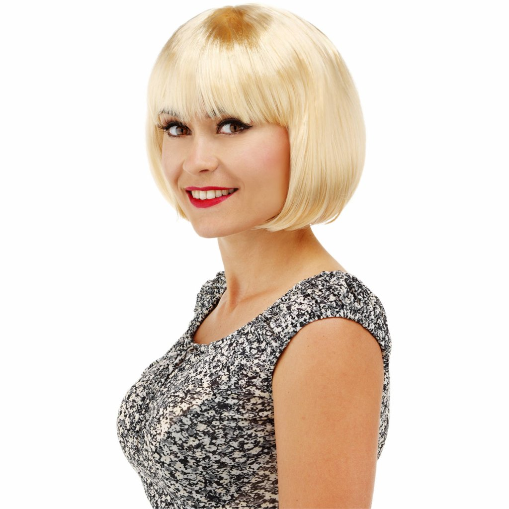bobline pruik blond foto