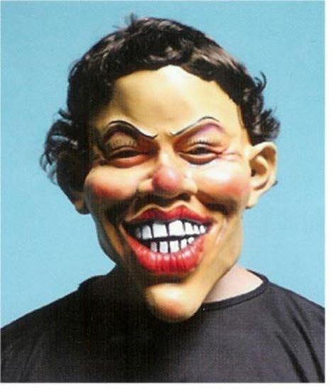 masker big smile foto
