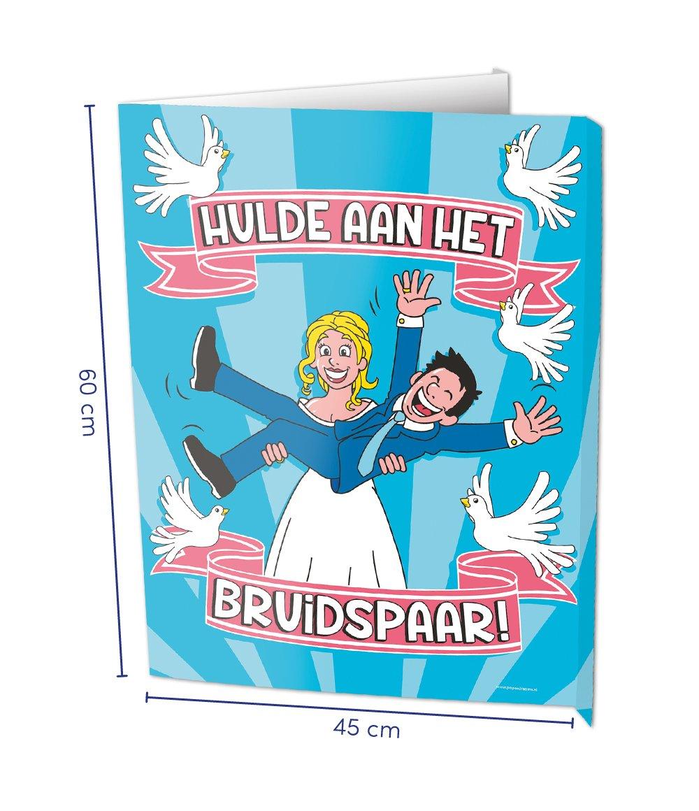 window signs bruidspaar foto
