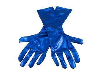 handschoenenmetallic blauw