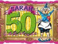 Deurkaart Sara 50