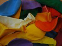 10 Ballonnen gemengde kleuren