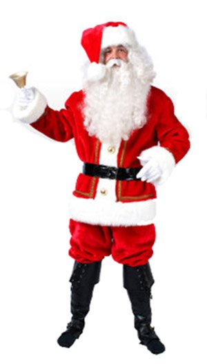 Kerstmanpak de luxe + foto