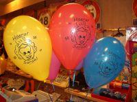 10 ballonnen Sarah