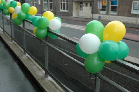 Ballonnen tros 10 foto