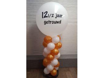 Ballonnenzuil huwelijk 12,5