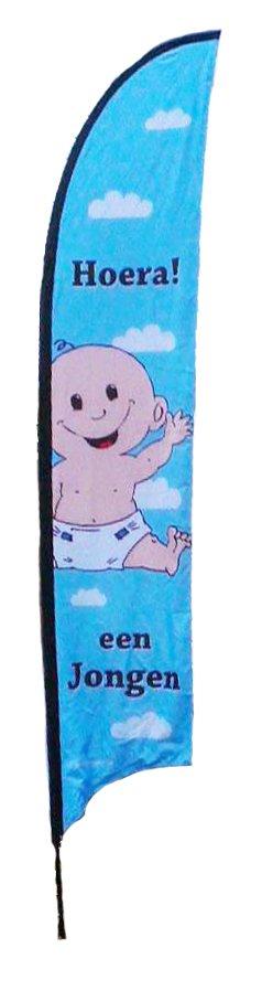 Baby beach vlag jongen 5m foto