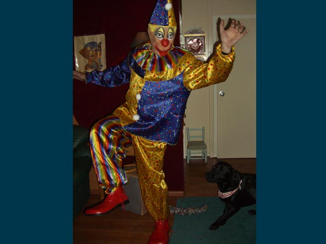 Clownspak foto
